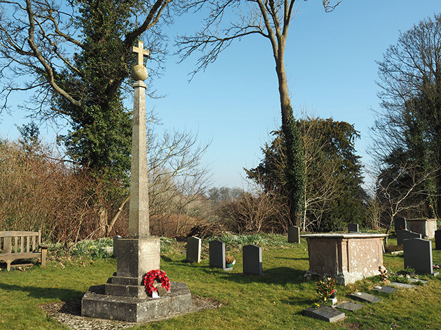 Bromfield War Memorial.