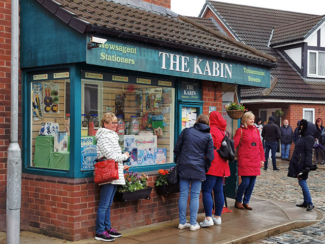 The Kabin. No sign of Rita though!