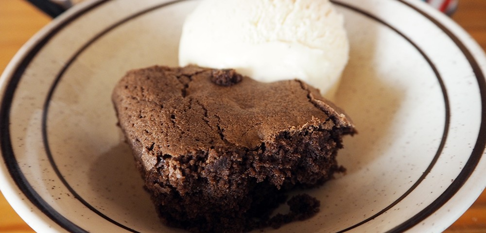 Delicious Alchemy Chocolate Brownie & Swedish Glace Smooth Vanilla Ice Cream