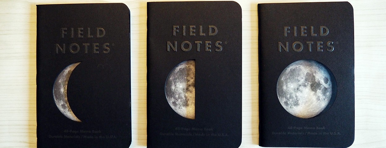 Stationery Saturday: Field Notes Lunacy Memo Books
