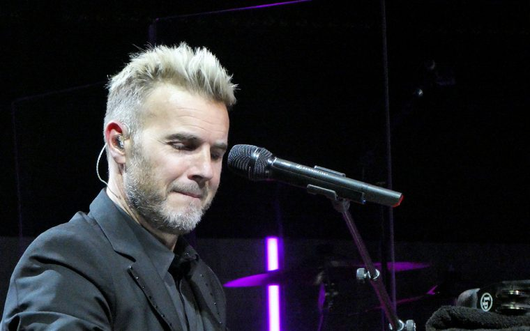 Gary Barlow at the Symphony Hall
