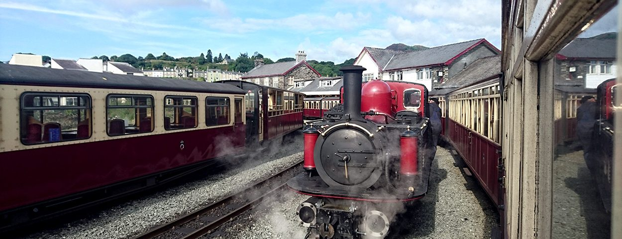 Riding the Ffestiniog Railway