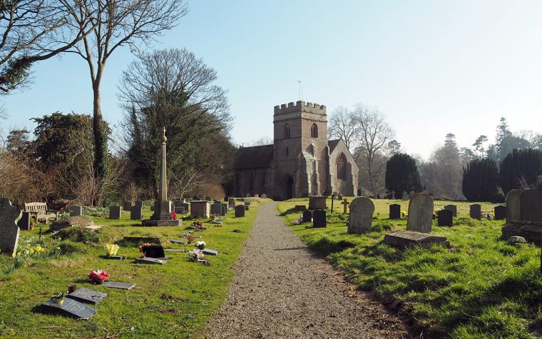 St Mary the Virgin's Church, Bromfield