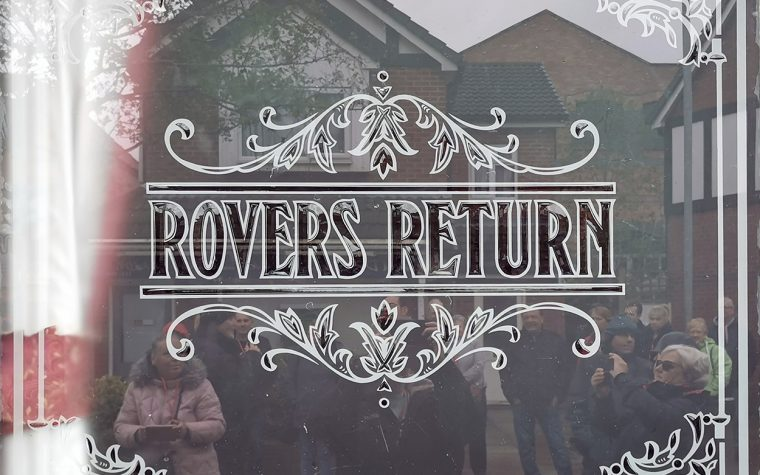 Rovers Return window