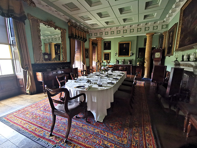 The Dining Room (originally the Best Bedchamber).