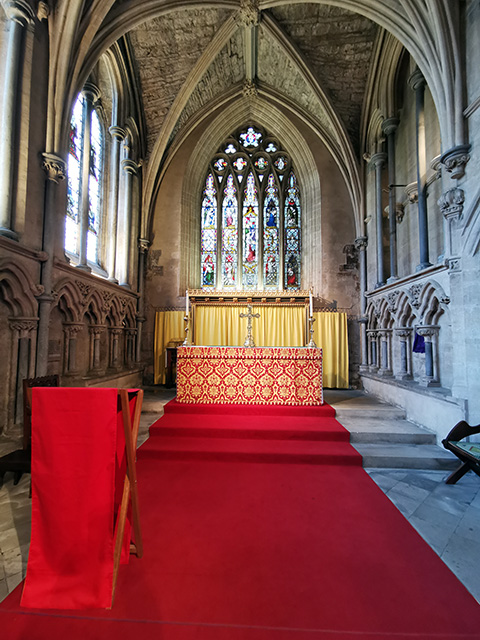 The Elder Lady Chapel.