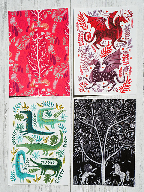Papio Press Postcards