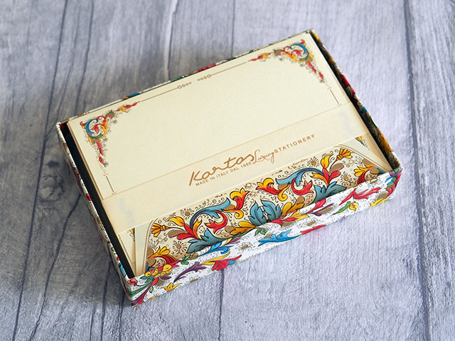 The Kartos Florentia 10 Medium Cards & Envelopes Set.