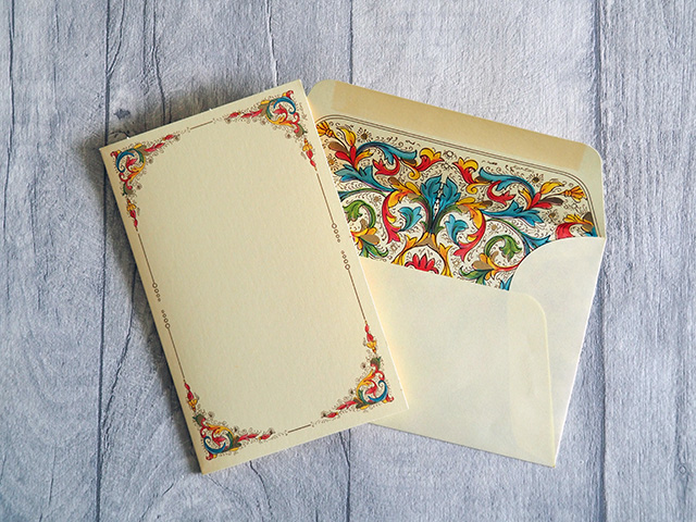 Kartos Florentia Medium Card & Envelope.