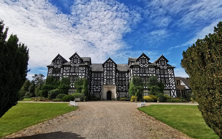 Gregynog Hall in Mid Wales.