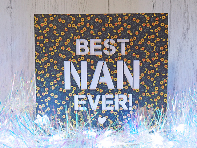 Best Nan Ever birthday card by Ditsy & Lee.