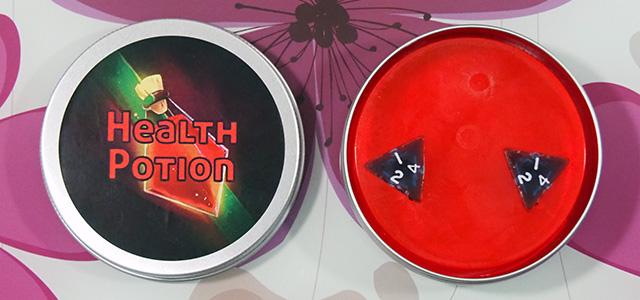 GeekyClean Health Potion Soap.