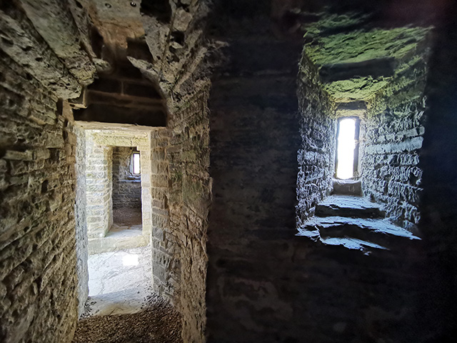 Doorways and windows. in Hopton Castle.