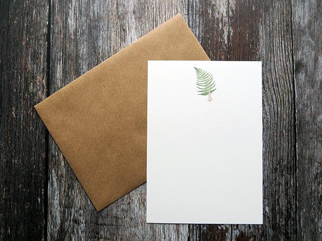 Laura Stoddart Fern card.
