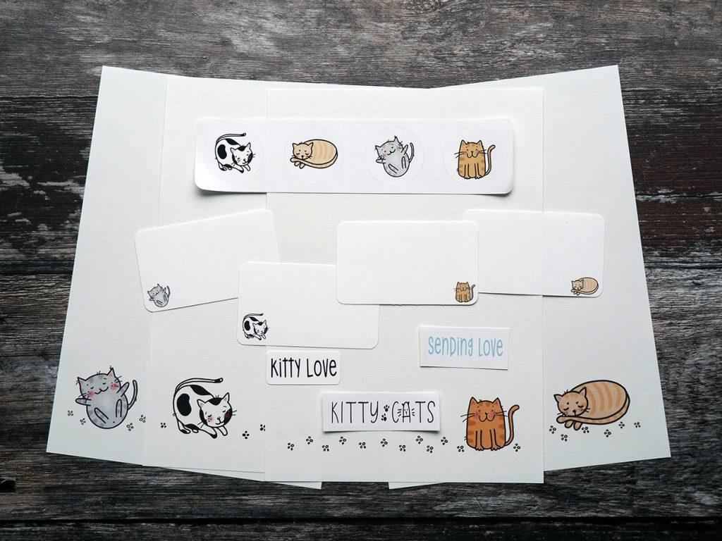 Cat Letter Writing Set